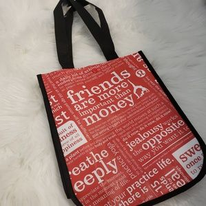 Lululemon small lunch tote size bag.